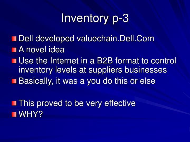 Inventory p-3
