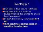 inventory p 7