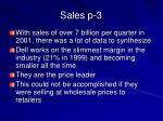 sales p 3
