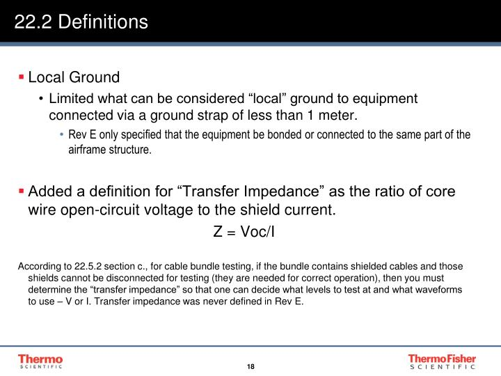 22.2 Definitions
