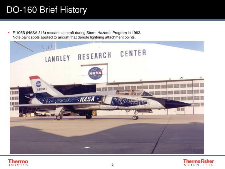 DO-160 Brief History