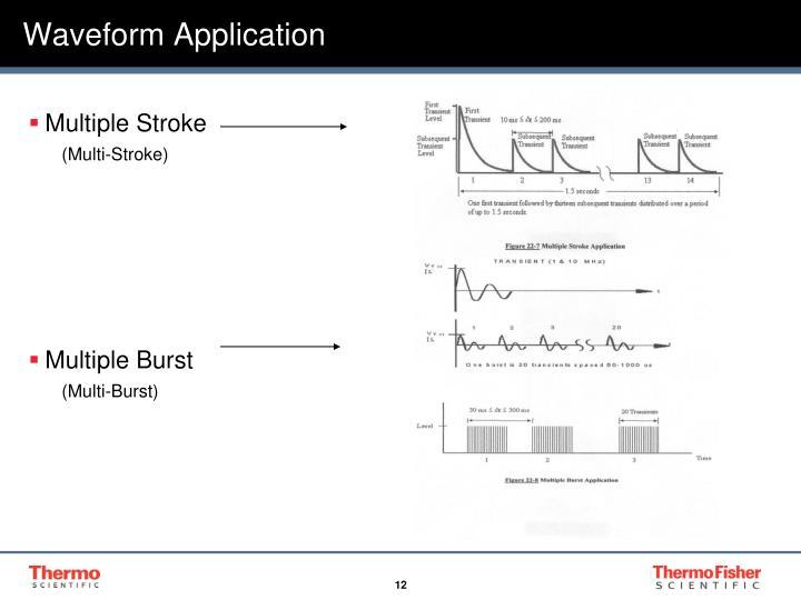 Waveform Application