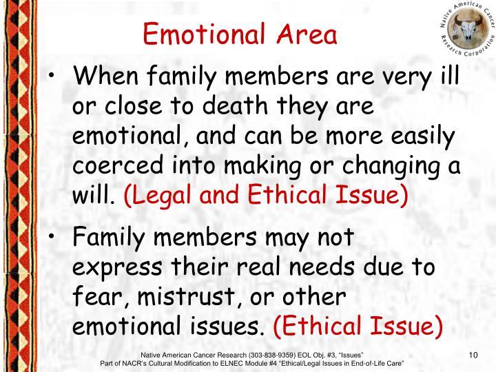 Emotional Area