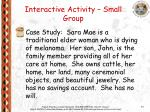 interactive activity small group1