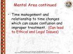 mental area continued1