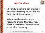 mental area
