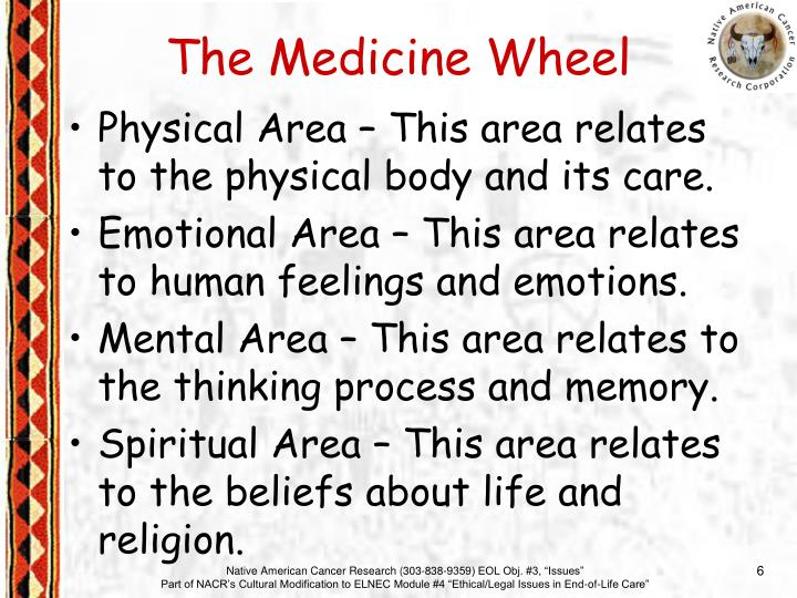 Physical Area – This area relates to the physical body and its care.