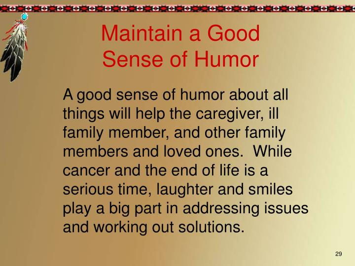 Maintain a Good