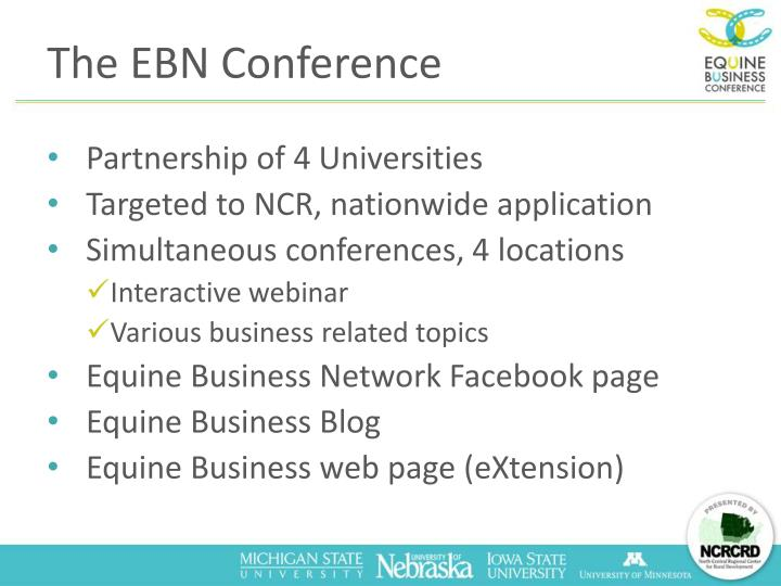 The EBN Conference
