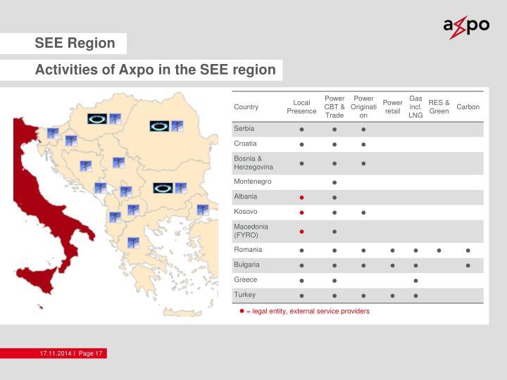 SEE Region