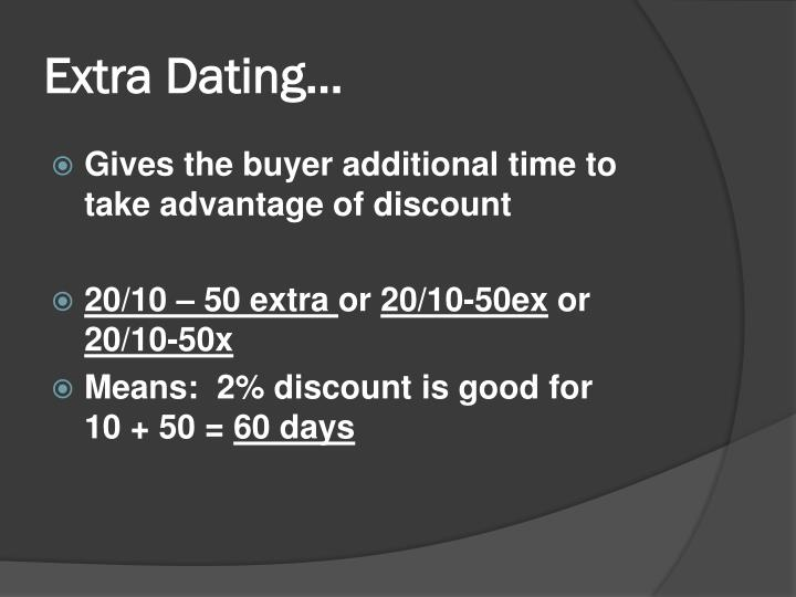 Extra Dating…