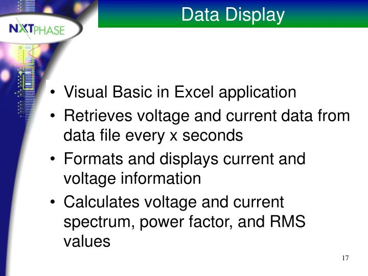 Visual Basic in Excel application