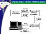 digital input power meter layout
