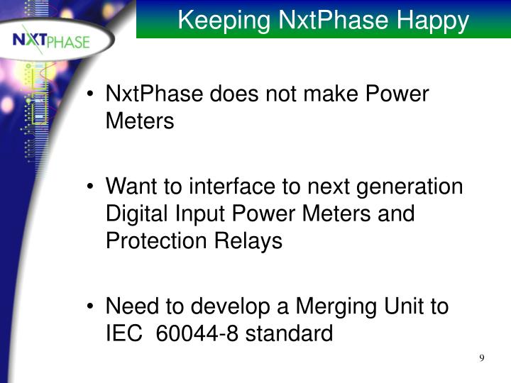 NxtPhase does not make Power Meters
