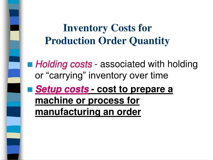 Inventory Costs for