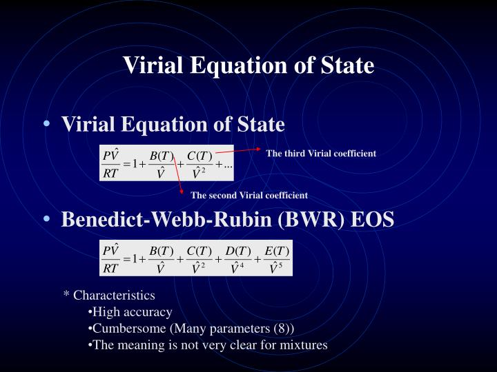 Virial Equation of State