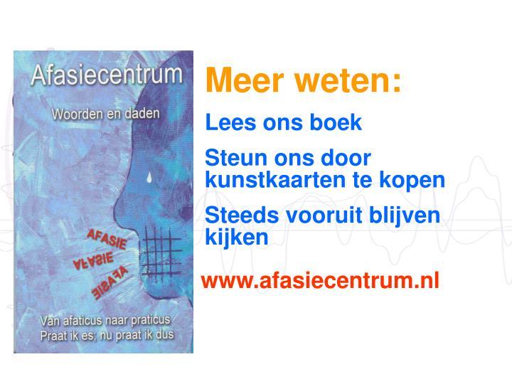 Meer weten: