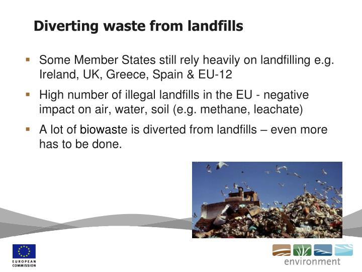 Diverting waste from landfills