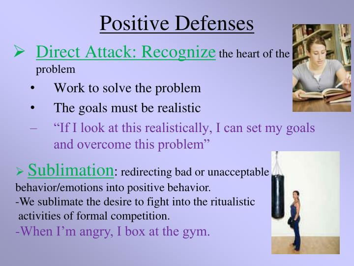 Positive Defenses