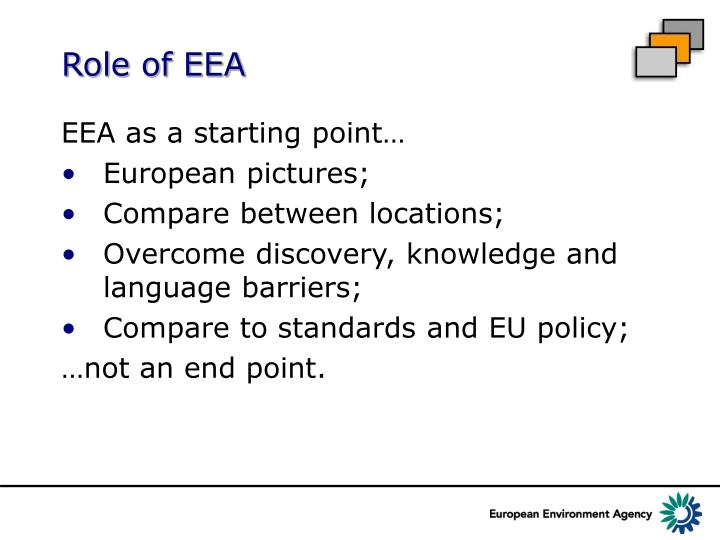 Role of EEA