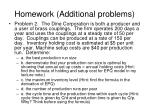 homework additional problems1