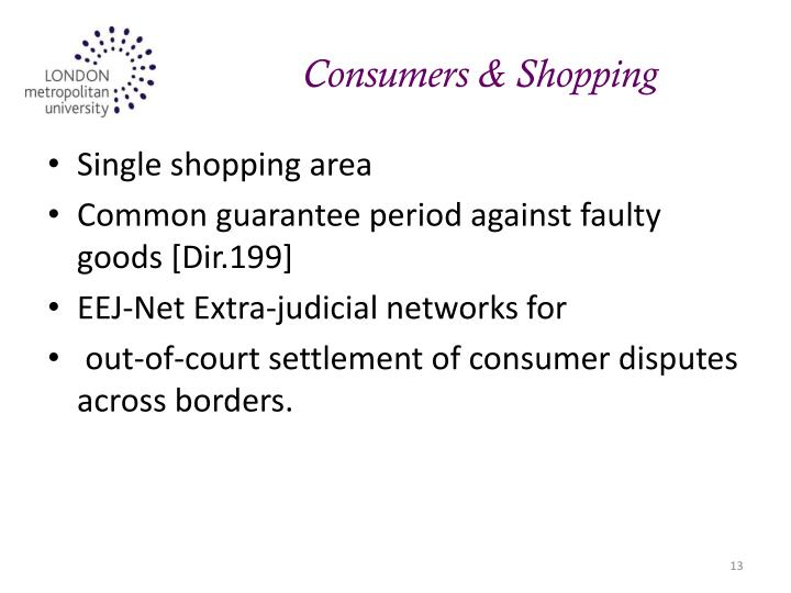 Consumers & Shopping