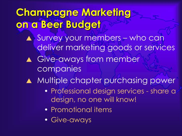 Champagne Marketing