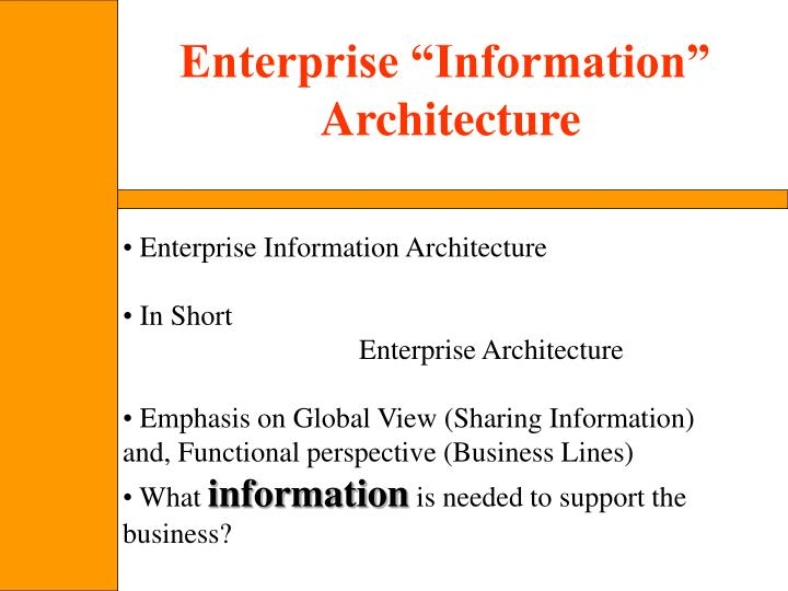 "Enterprise ""Information"""