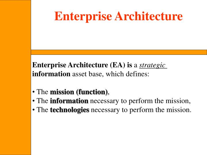 Enterprise Architecture