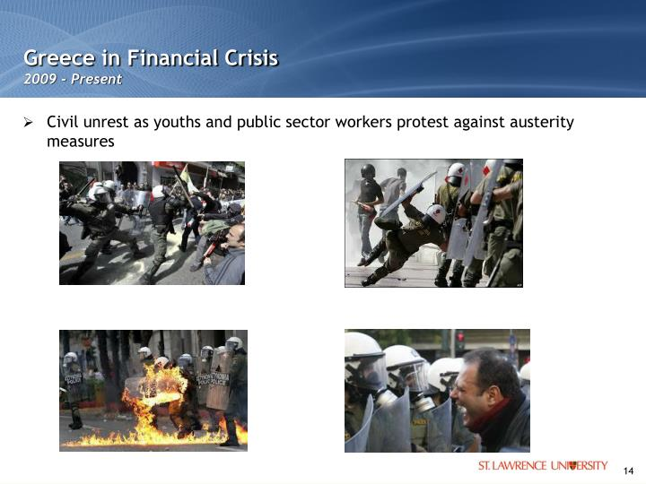 Greece in Financial Crisis