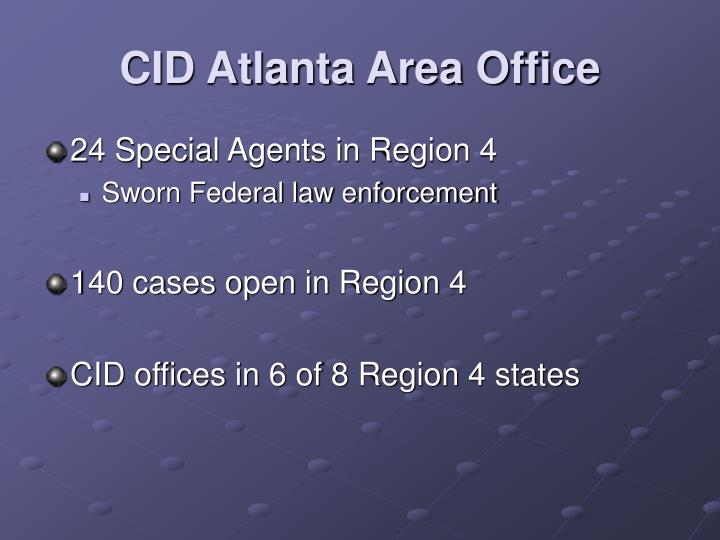 CID Atlanta Area Office