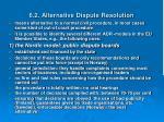 6 2 alternative dispute resolution