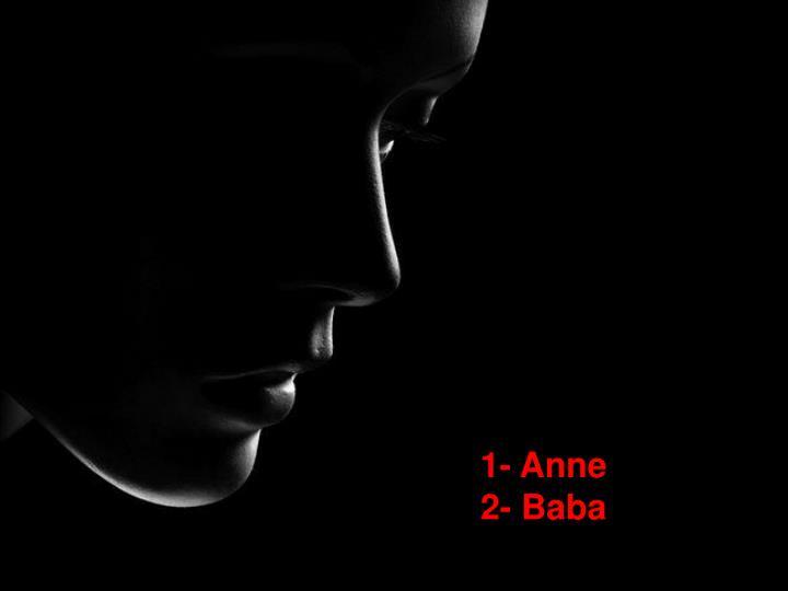 1- Anne