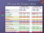 rf and ac power 30 w