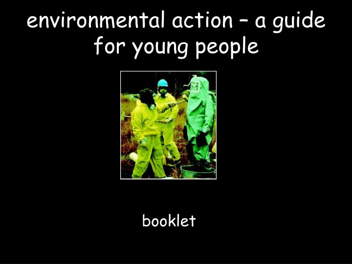environmental action – a guide for young people