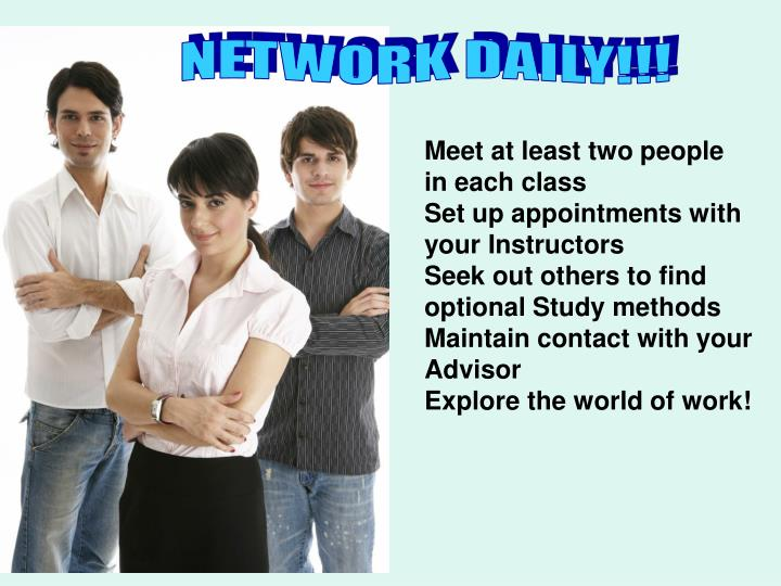 NETWORK DAILY!!!
