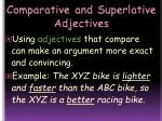 comparative and superlative adjectives11