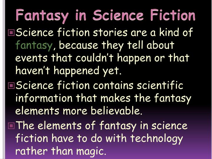 Fantasy in Science Fiction
