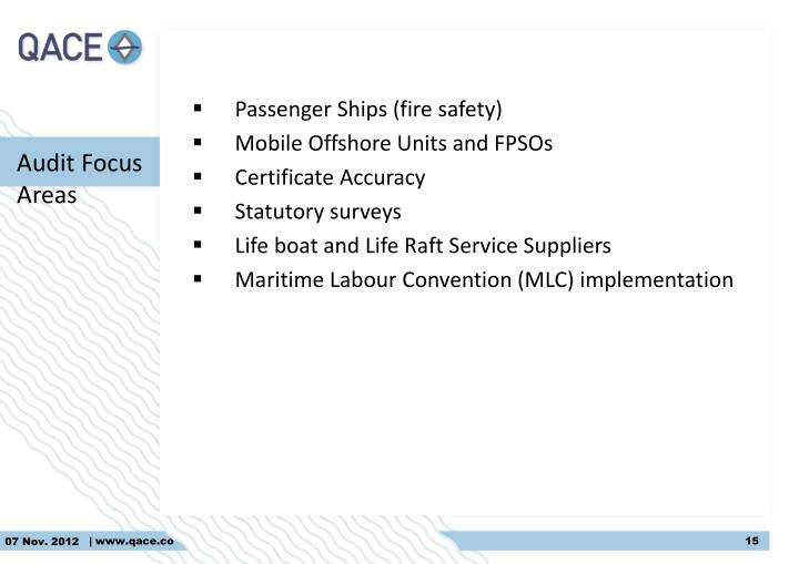 Passenger Ships (fire safety)