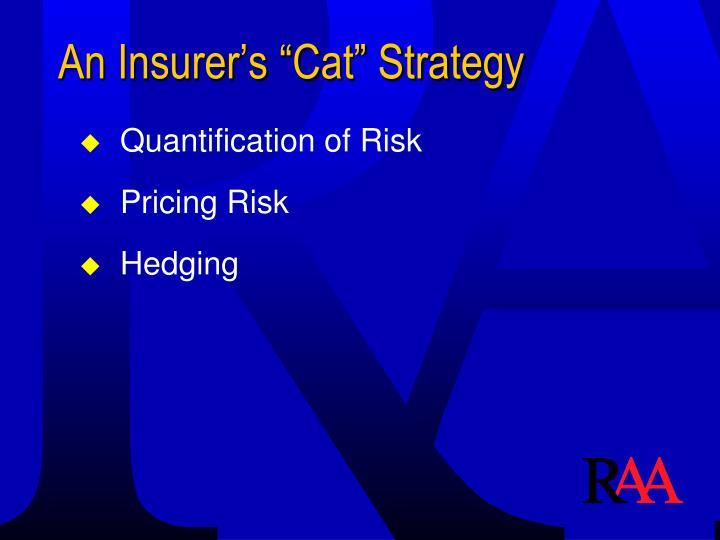 """An Insurer's """"Cat"""" Strategy"""