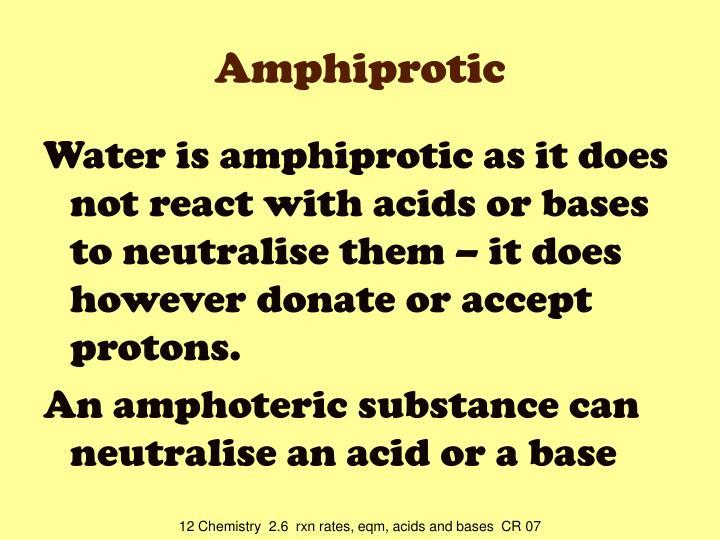Amphiprotic