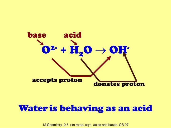 base  acid