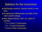 statistics for the uncommon