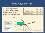 who pays the tax1