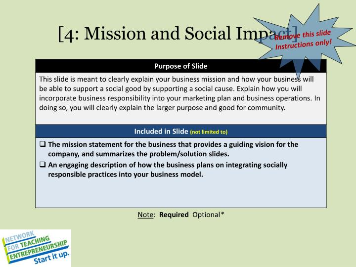 [4: Mission and Social Impact]