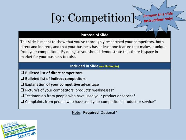 [9: Competition]