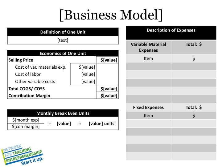 [Business Model]