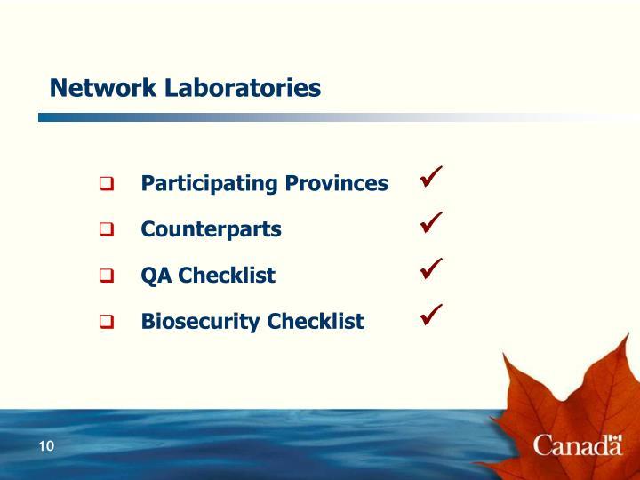 Network Laboratories