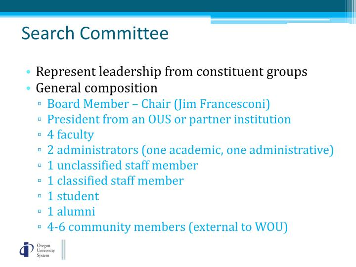Search Committee