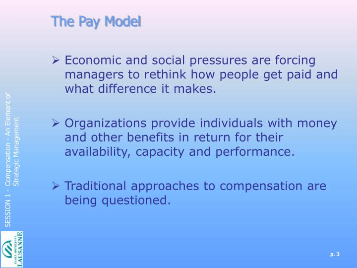 The Pay Model
